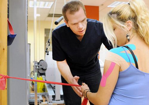 Φυσικοθεραπευτική αντιμετώπιση μίας αθλητικής κάκωσης